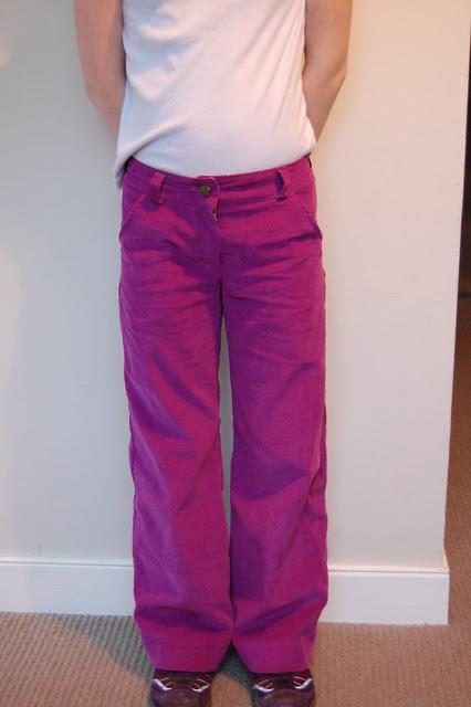 Purple Sarita Jeans