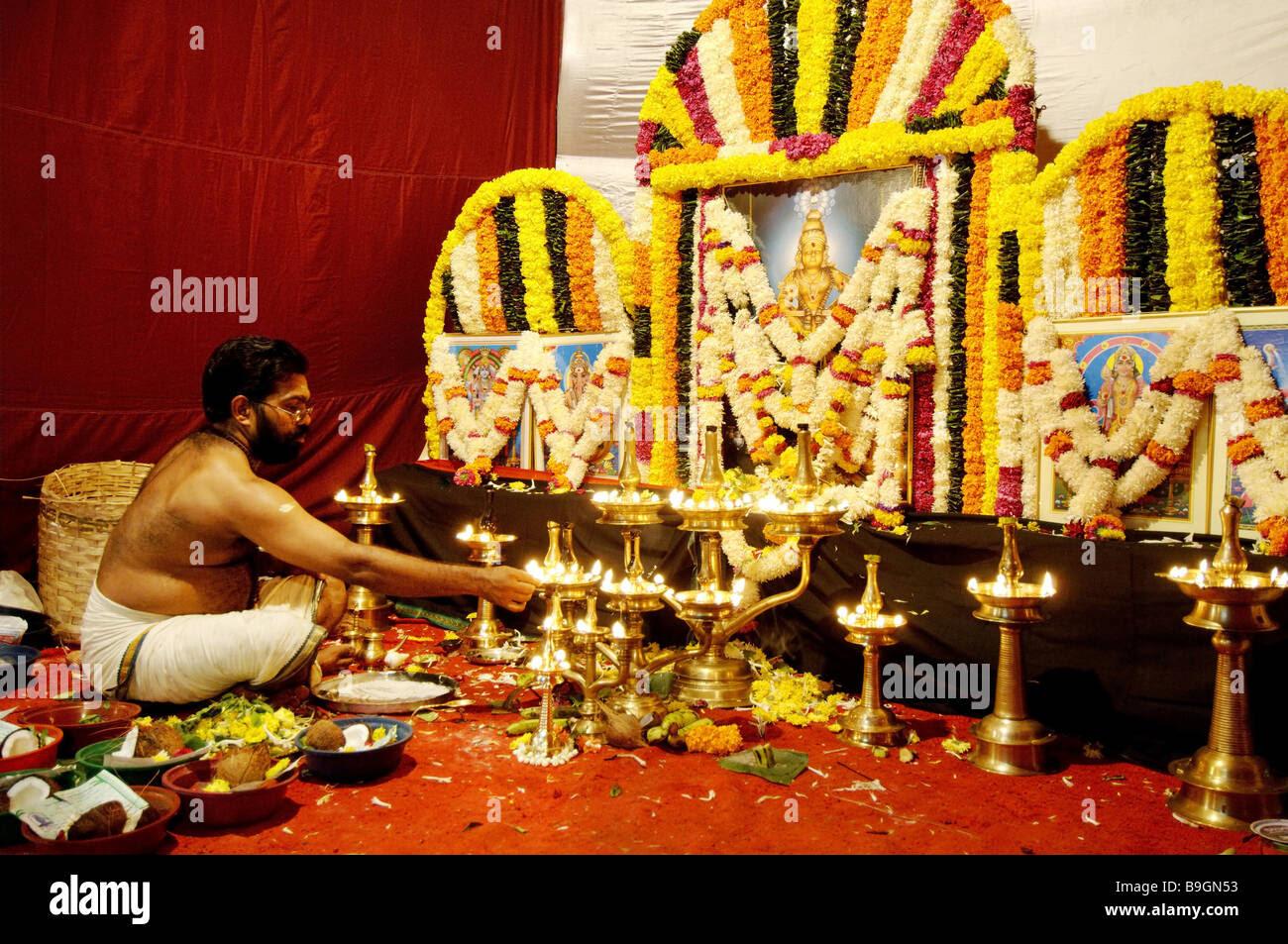 Flower Decoration Images For Pooja