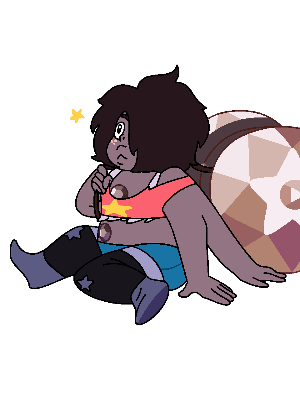 Here is the majestic Smoky Quartz holding their yoyo. Hope y'all enjoy. Thank you once again @yourcaptaina