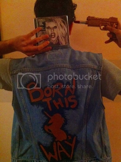 i popslutters con born this way: this is 4 ü, @ladygaga