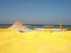 The beach, Grzybowo