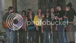 Jon-Rae Fletcher and The Choir @ The Music Gallery: photo credit - suckingalemon