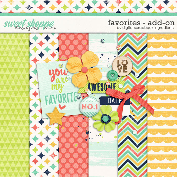 Favorites Add-On by Digital Scrapbook Ingredients