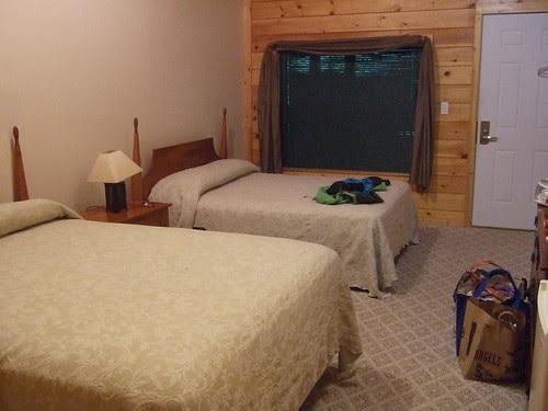Nantahala Inn our room
