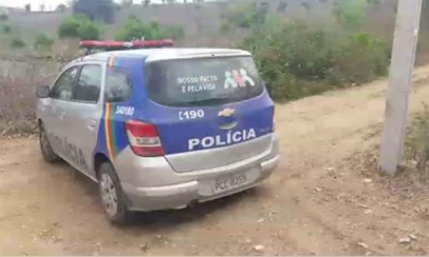 Crime foi registrado no Sítio Barbatão, na zona rural de Caruaru / Foto: reprodução/Caruaru no Face