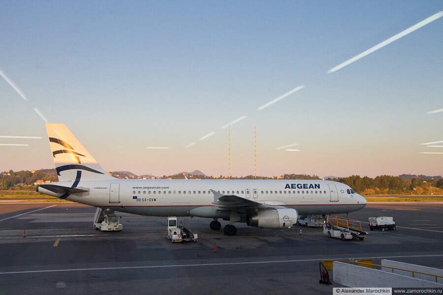 Airbus A-320 Aegean Airlines