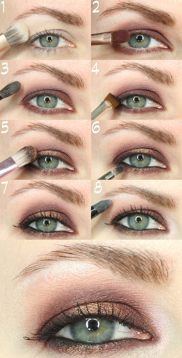 Makeup for Hooded Eyes | How to Apply Full Eye Makeup