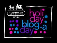 Coach Holiday Blog-a-Day