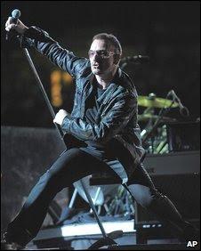 U2 to stream concert live on YouTube