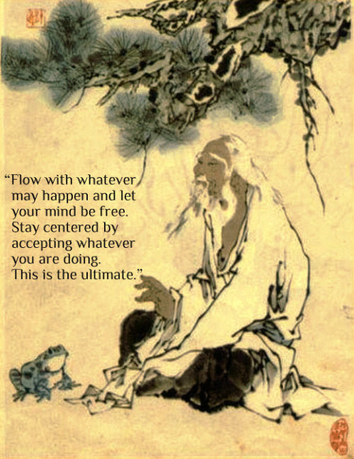 man-in-the-way:  Chuang Tzu