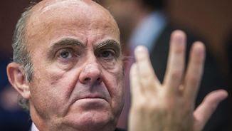 De Guindos té una visió catastrofista de l'economia catalana si arriba la independència (EFE)
