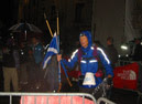 Murdo McEwan at the finish