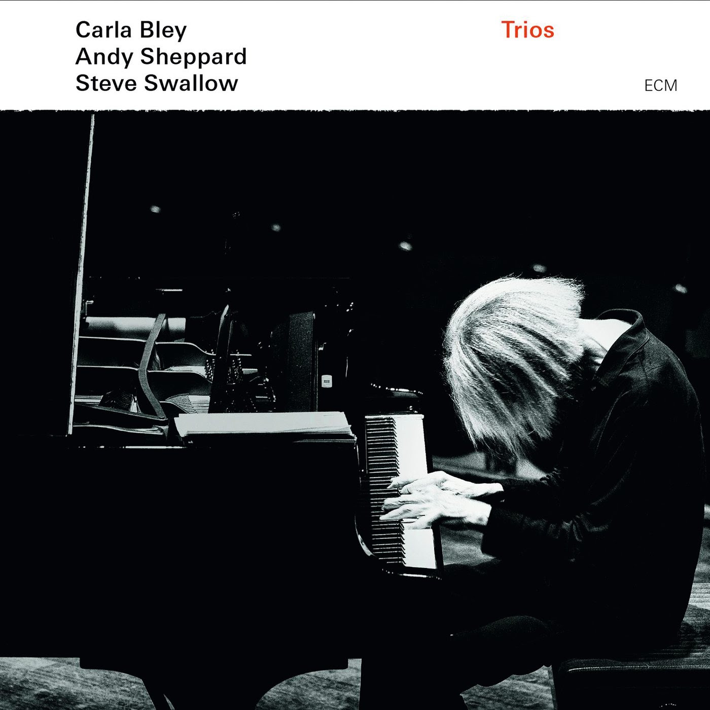 Carla Bley, Andy Sheppard, Steve Swallow - Trios cover