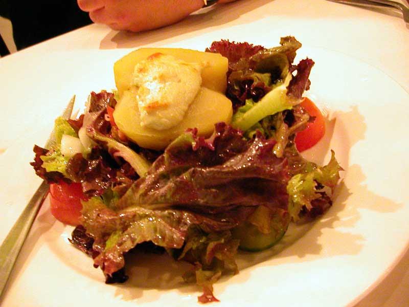 baked apple salad