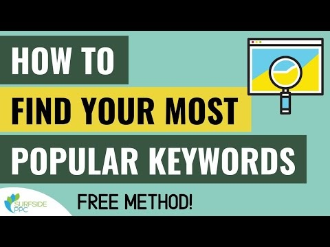 Find Your Most Popular Keywords Fast