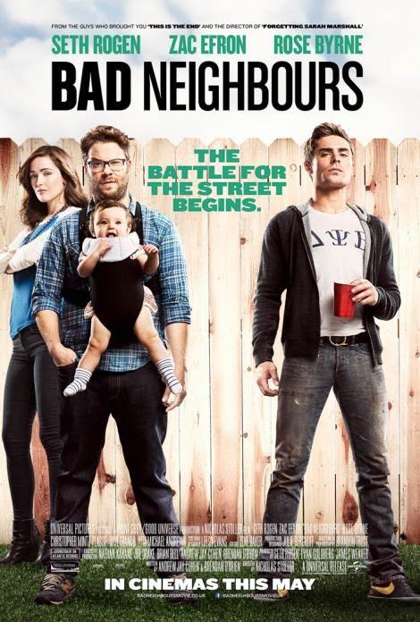 Resultado de imagen para bad neighbours poster