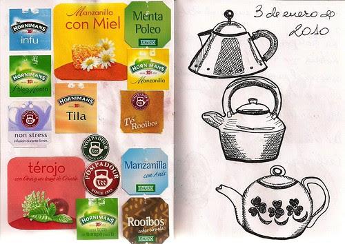 The tea that I like to take.