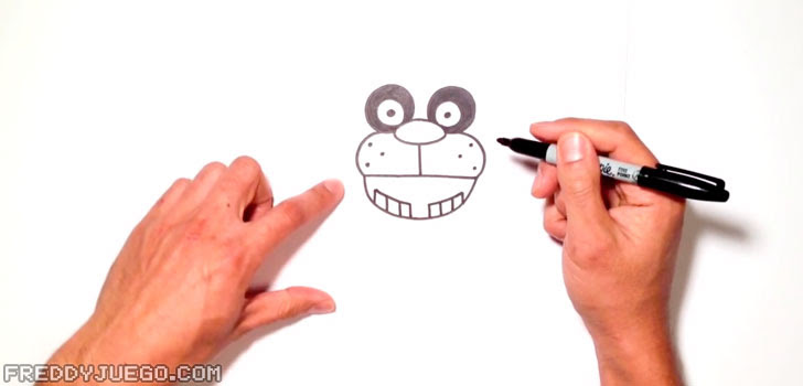 Five Nights At Freddys Dibujos Cómo Dibujar Freddy Fazbear