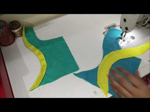 New model blouse design|Cutting and stitching