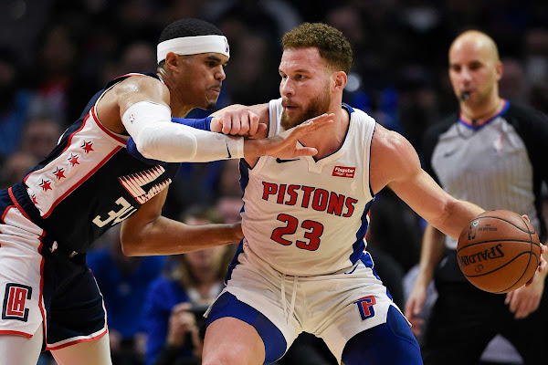 ee0e5d64813b Detroit Pistons  Blake Griffin picked by Team Giannis in All-Star Game