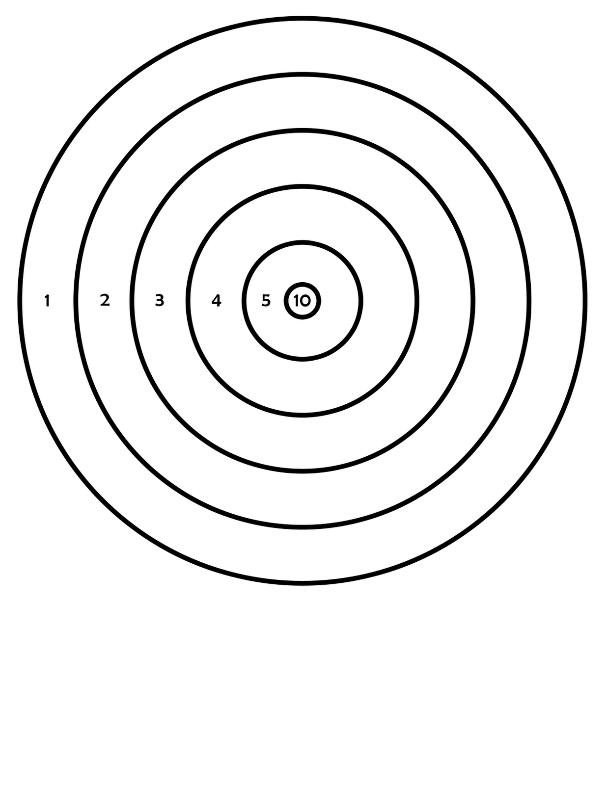 It is a photo of Persnickety Shooting Target Pdf