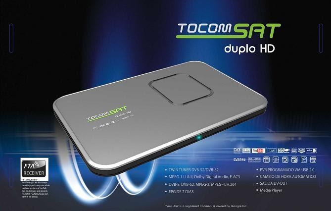NOVA ATT TOCOMSAT DUPLO HD  24.02.2015