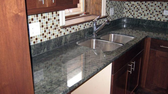 Dekorasi Desain Meja Dapur Granit Terbaru