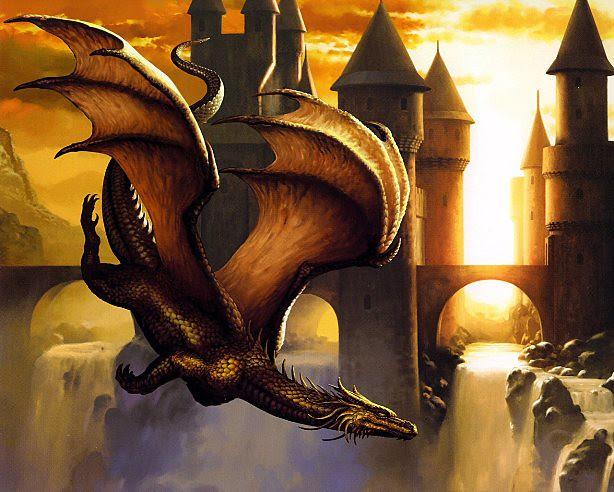 Ciruelo Cabral, Sunset dragon