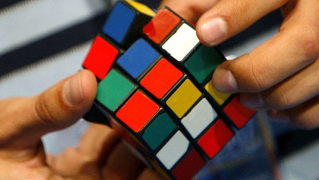 Playing with a Rubik's Cube