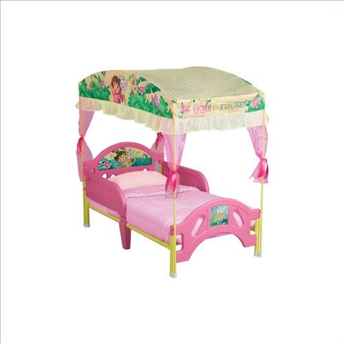 Canopy Beds For Girls Dora The Explorer Toddler Bed With