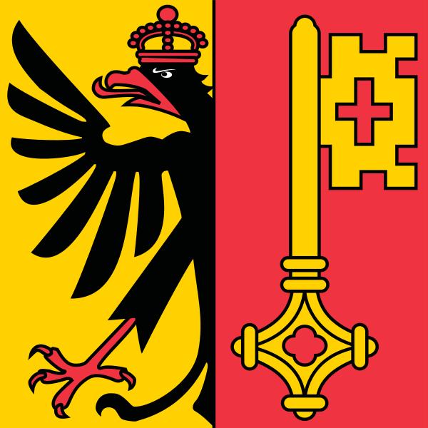 Archivo:Flag of Canton of Geneva.svg
