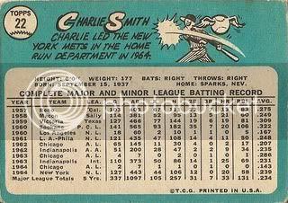 #22 Charlie Smith (back)