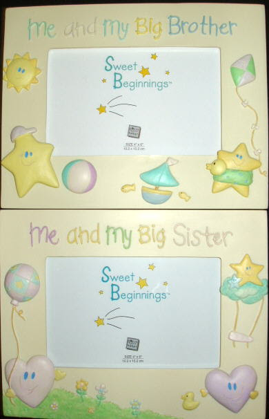 Me And My Big Brotherbig Sister Picture Frames