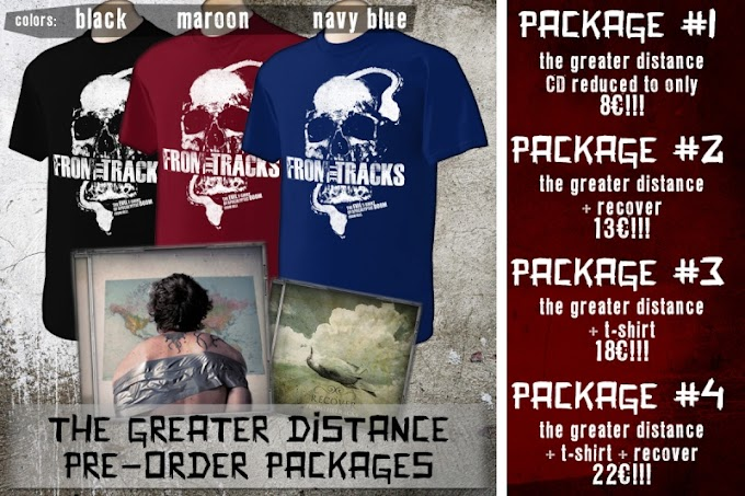 [NEWS] From The Tracks - The Greater Distance pre-orders open!