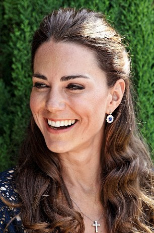 Radiant: The Duchess is said to be a big fan of the Karin Herzog range