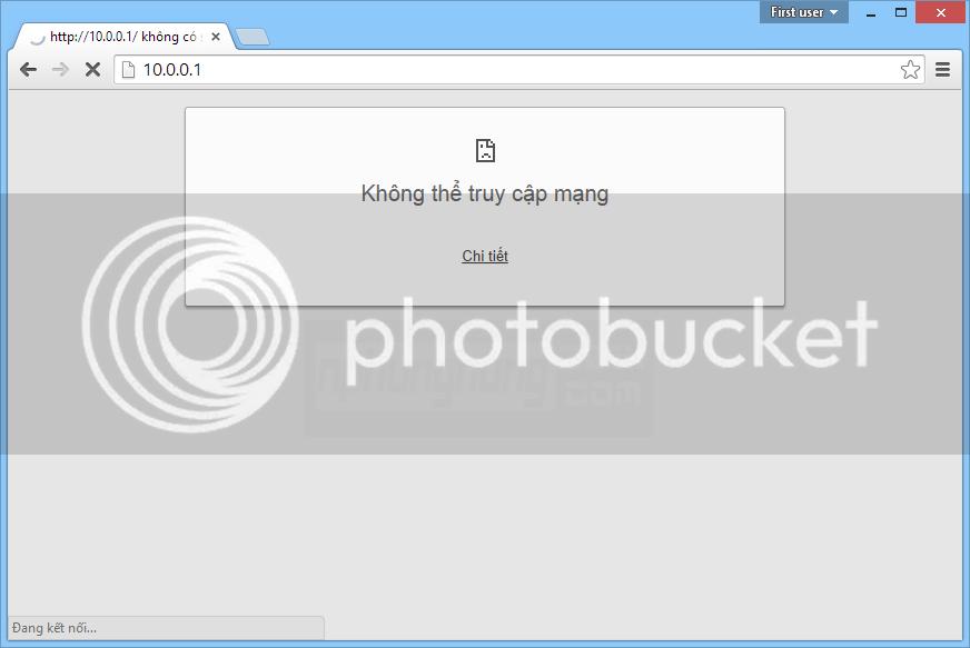 Trang web chuyển đến IP mới của Router