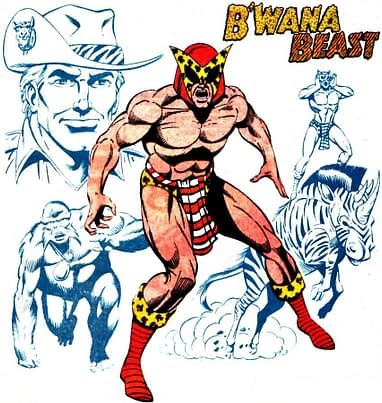 Dc Comics B Wana Beast