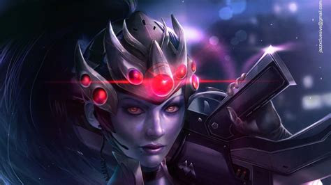 widowmaker overwatch videogame hd games  wallpapers