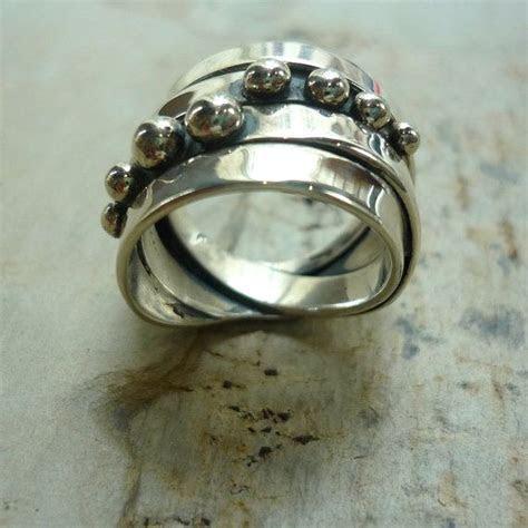 17 beste ideeën over Chunky Silver Rings op Pinterest