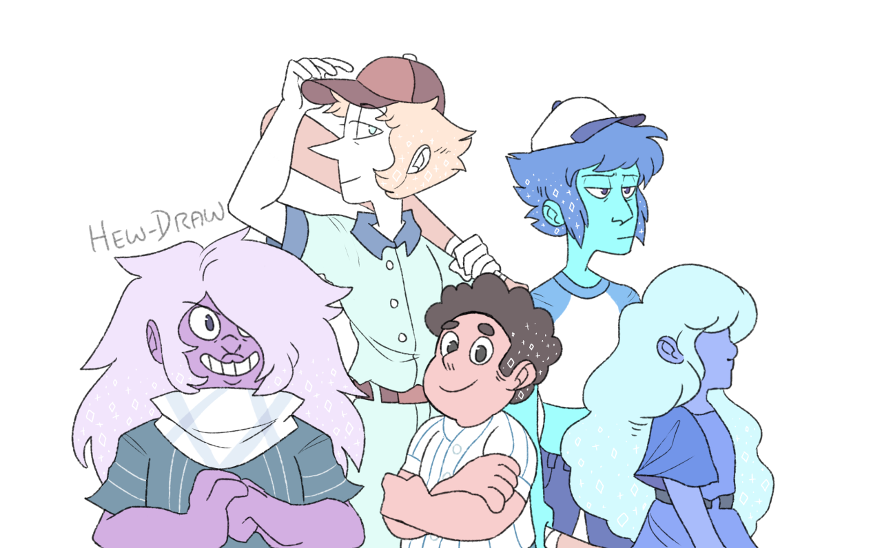 We are the Crystal Gems humans!