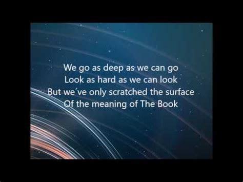 The Book Michael Card (Lyrics)   YouTube