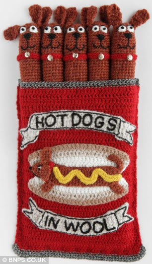 Real hot dogs: