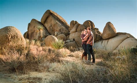 Joshua Tree Engagement Session with Jenna and Justin