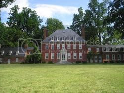 mansion at the Westover Plantation on the James River