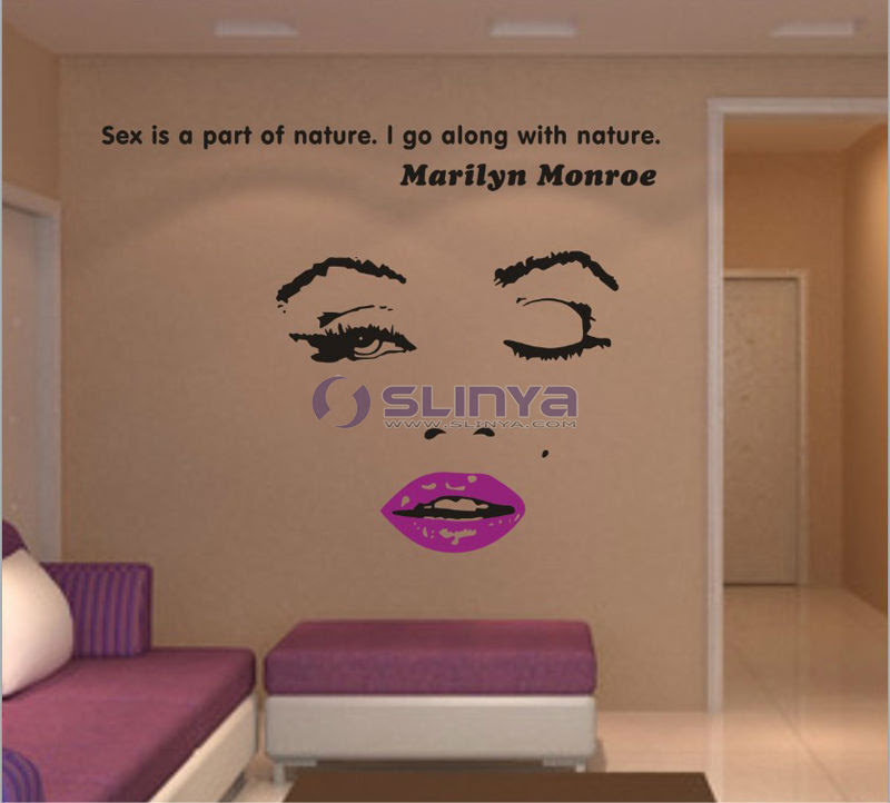 Marilyn Monroe Wall Art Quotes. QuotesGram