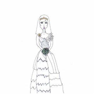 The Creepy Bride photosculpture
