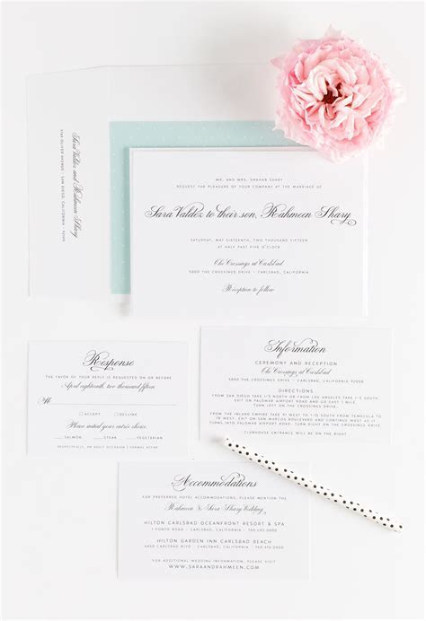 Vintage Wedding Invitations in Mint ? Wedding Invitations