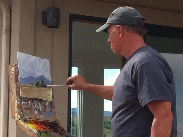 Marc Hanson ~ Oil Painting Demo