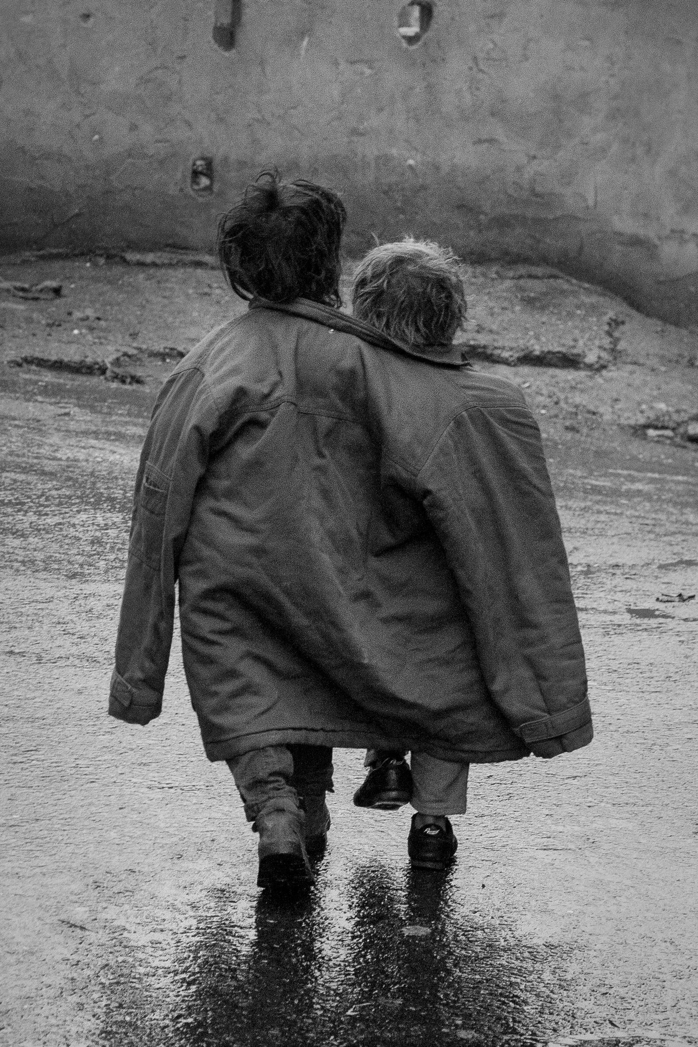 A coat for two