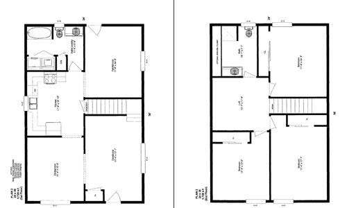 16 X 24 Two Story Shed Plans